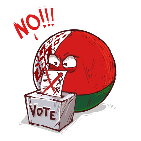 Belarus country voting no