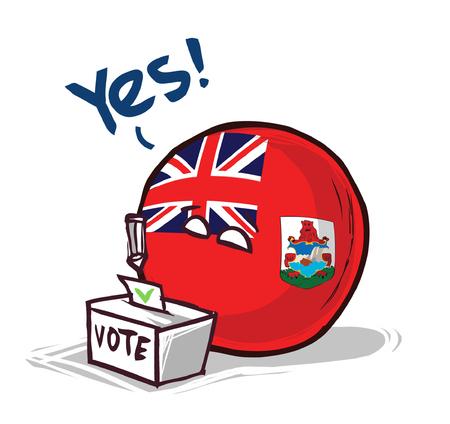 Bermuda Islands voting yes