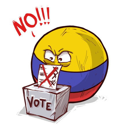 Colombia voting no