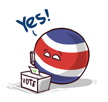 Costa Rica voting yes