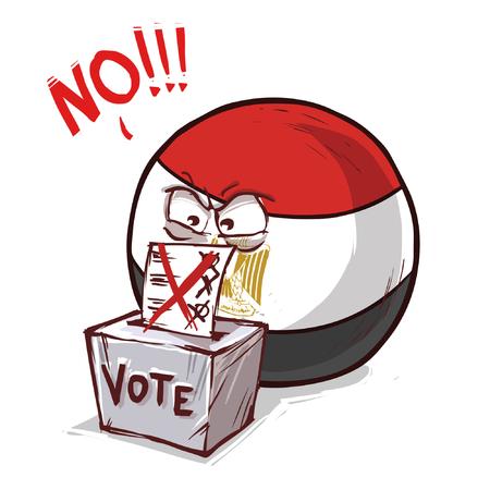 Egypt voting no