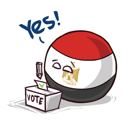 Egypt voting yes