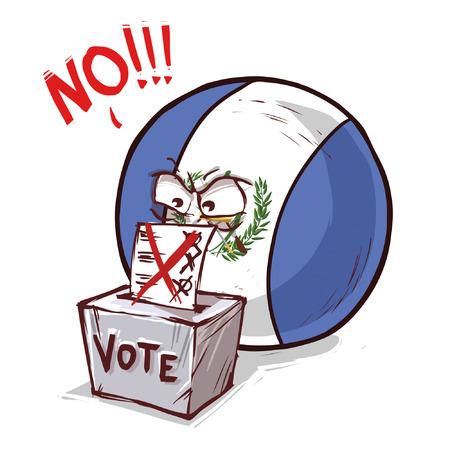 Guatemala voting no