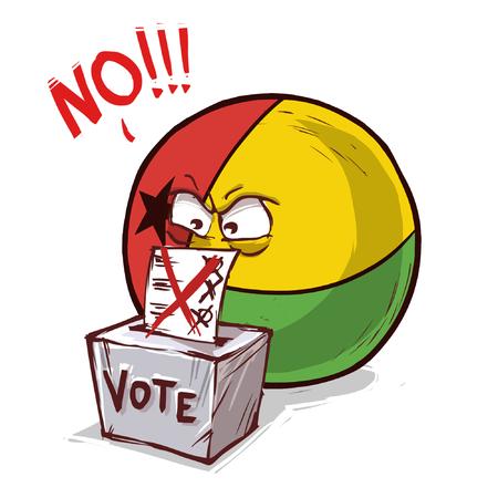 Guinea voting no