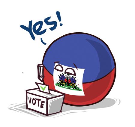 Haiti voting yes