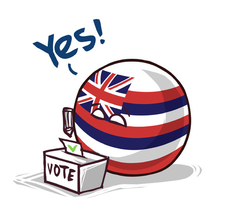 Hawaii island ball voting voting yes