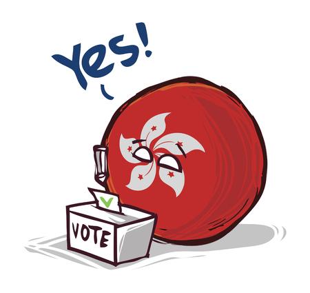 hong kong voting yes