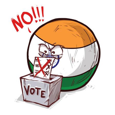 india voting no