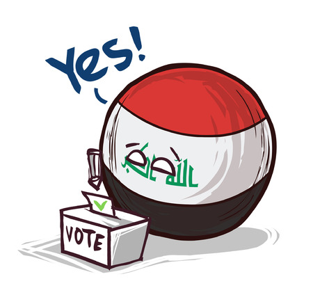 iraq country voting yes