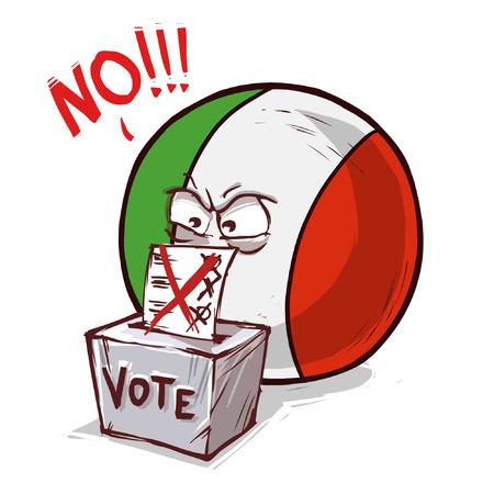 italy voting no