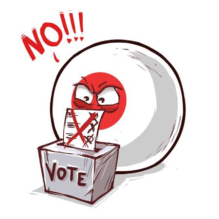japan voting no