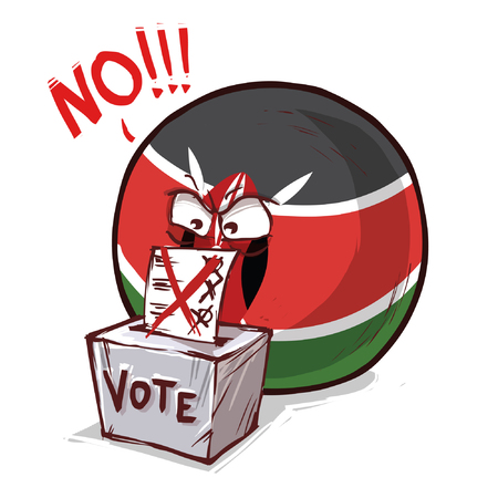 kenya country ball voting no