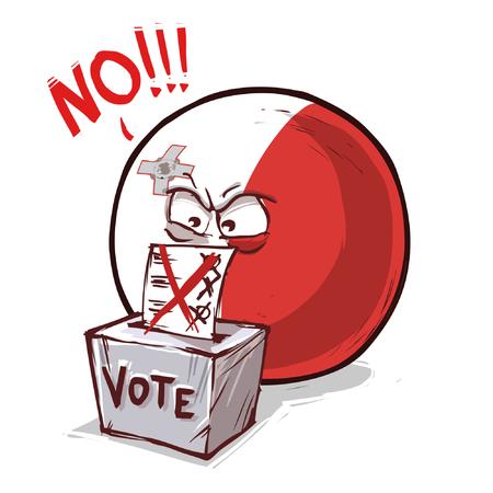 Malta country ball voting no