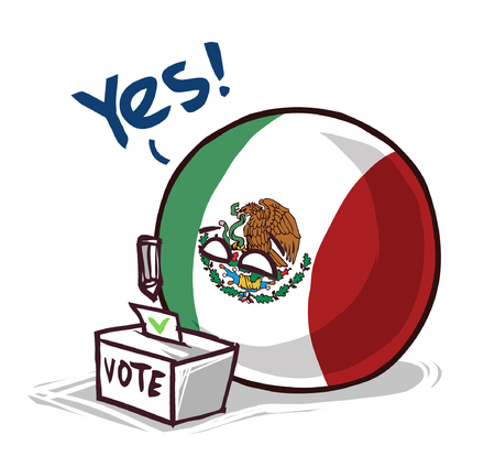 Mexico country ball voting yes
