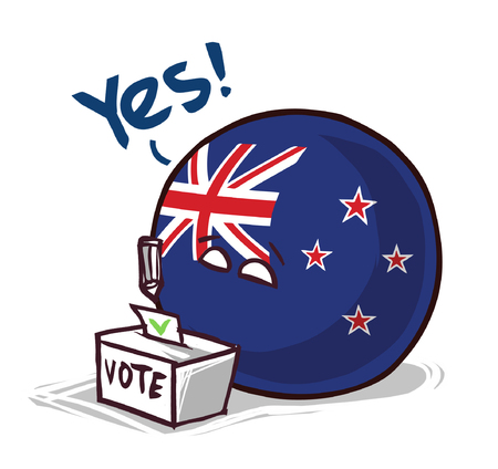 New Zeland country ball voting yes