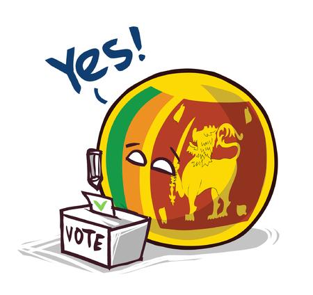 sri lanka country ball voting yes
