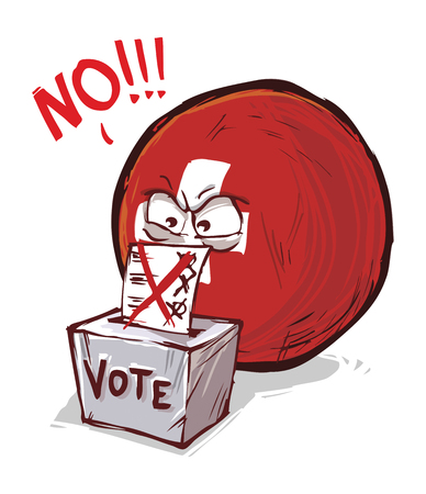 Suisse vote non Vecteurs