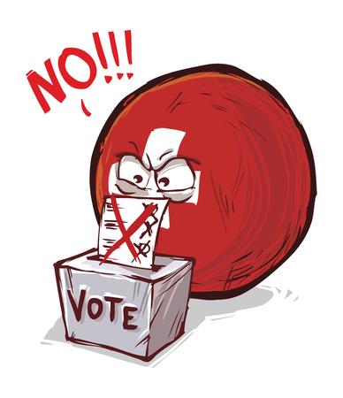 Switzerland voting no