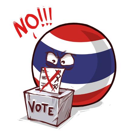 Thaïlande pays vote non