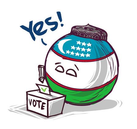 uzbekistan voting yes
