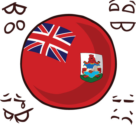 Bermuda Islands country ball