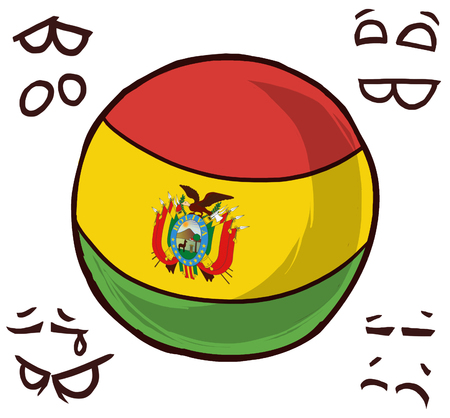 Bolivia country ball