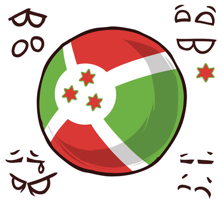 Burundi country ball