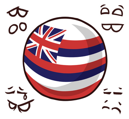 Hawaii island ball