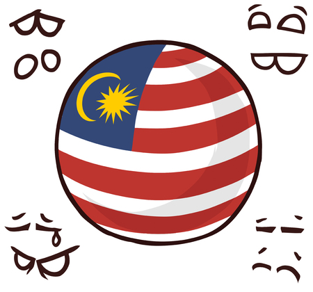 malaysia country ball