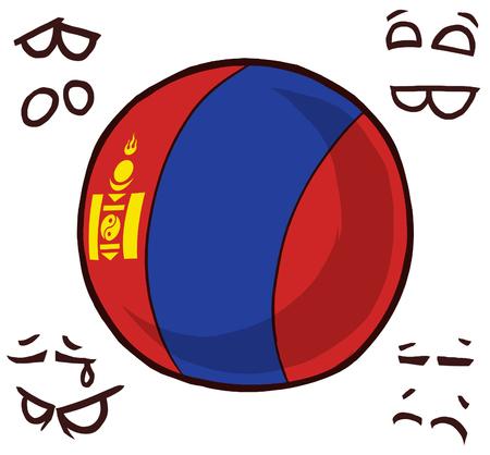mongolia country ball