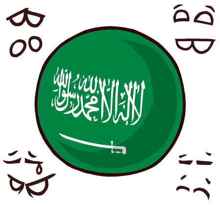 Saudi Arabia country ball