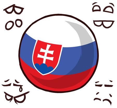 Slovakia country ball