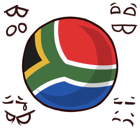 South Africa country ball