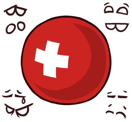 Switzerland country ball swiss
