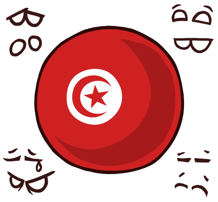 Tunisia country ball