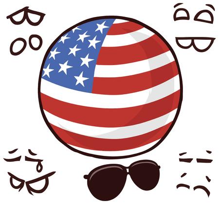 USA country ball
