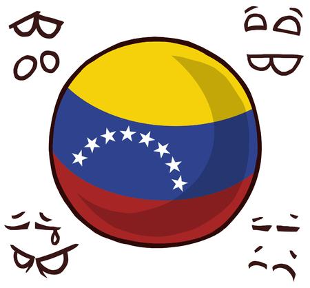 Venezuela country ball
