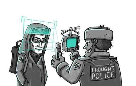 Thought Police checks brain scan