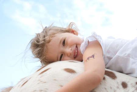 pony girl: kids riding