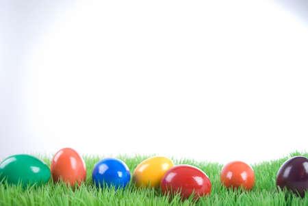 Paas eieren Stockfoto