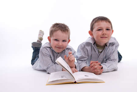 Children have fun while learning and reading