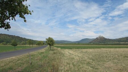 tranquillity: Road to the castle on the mountain