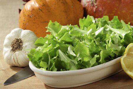 lettuce salad Stock Photo - 2512972
