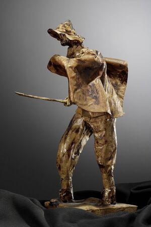 papier mâché sculpture shepherd Stock Photo - 3391459
