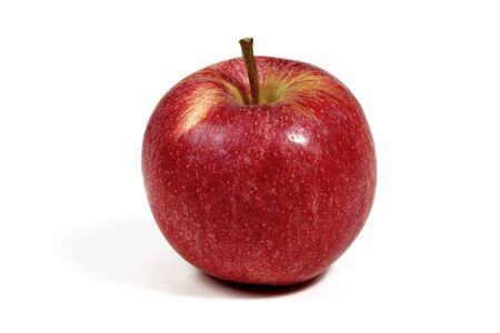 red apple isolated on white Stock Photo - 3663658