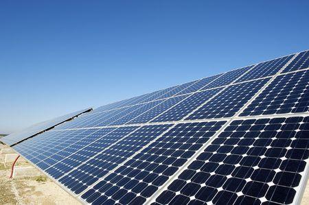 energia solar: Energ�a solar  Foto de archivo