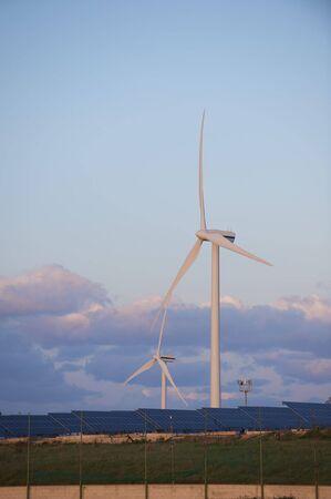 solar and wind energy Stock Photo - 6568389