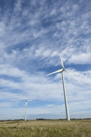 wind turbine in south Italy photo