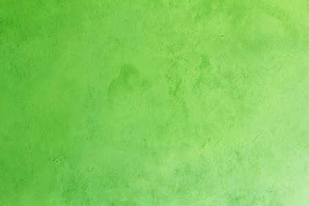 Green concrete wall Texture for use as a background Stock Photo