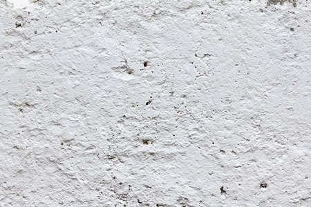 vintage grunge: White painted concrete wall Texture for use as a background